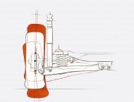 Wymiana łożyska koła tylnego w Volkswagenie Polo III.